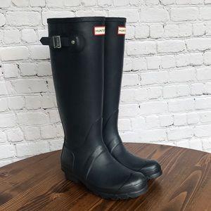 Original Hunter Rain Boots Navy Size 6